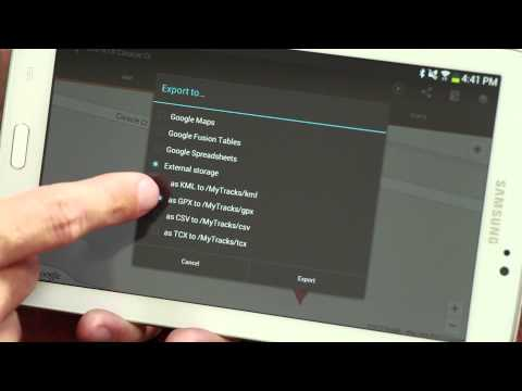 How to Export a GPS File From an Android : Important Android Tips