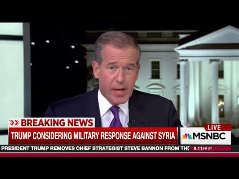 MSNBC Breaking News: U.S. Strikes Syria (Apr. 6, 2017)