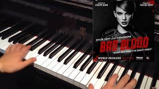 Taylor Swift: Bad Blood (Piano Tutorial + Sheets)
