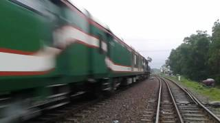 One of the most speediest Train in Bangladesh !!!!