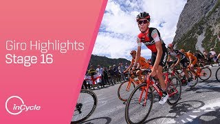 Giro d'Italia: Stage 16 - Highlights