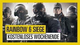 Tom Clancy's Rainbow Six Siege : Kostenloses Wochenende vom 24. bis 27. August
