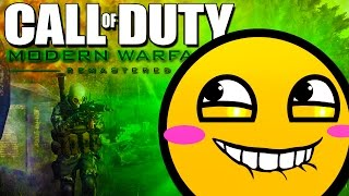 How to Win a 1v5!! - Call of Duty Modern Warfare Remastered!