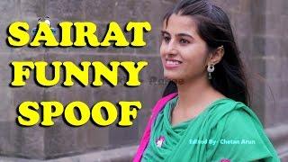 Sairat Spoof - Funny Temple Scene   Dekhte Rahoo