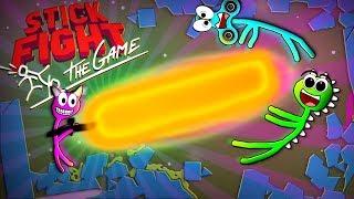 Der riesen Laser! - Stick Fight: The Game