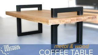 Making a metal and wood coffee table with Emiel