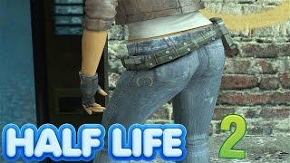 Half Life 2 -  Alyx Vance is HOT (SNIPING IN Half Life 2)