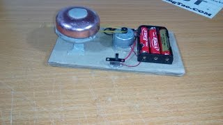How to make electric bell mini (simple)