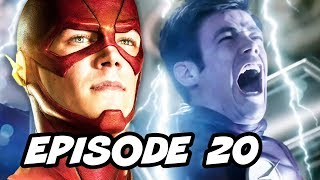 The Flash Season 2 Episode 20 - TOP 10 WTF and Easter Eggs