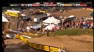 Ryan Dungey & Ryan Villopoto battle at Millville 2011,Reeds wild wreck over the Chadapolt!!