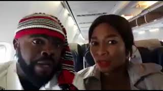 Chief Imo Comedy || chief imo and maggi turns to amusu flys on air (witches).
