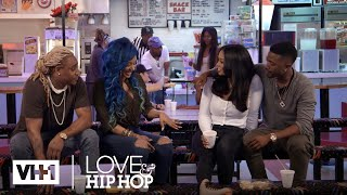 A1 & Lyrica Talk to Ray J & Princess About Eloping 'Sneak Peek' | Love & Hip Hop: Hollywood