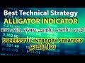 Best Technical Strategy ALLIGATOR INDICATOR - PART -1 TAMIL ( தமிழில் )