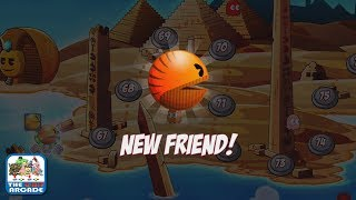 PAC-MAN Friends - Making A New Strong Friend in the Forsaken Canyon (iOS/iPad Gameplay)