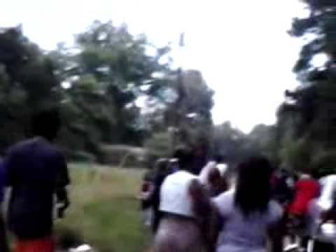 Selma Hood Fight Turnt Up