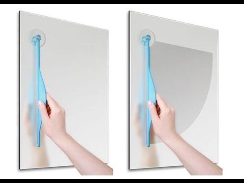 Обзор. Дворник для зеркала. Очиститель зеркала в ванную комнату. За такие деньги #83