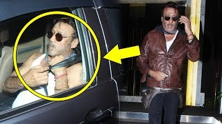 Drunk Jackie Shroff Spotted In बनियान At Rohini Iyer