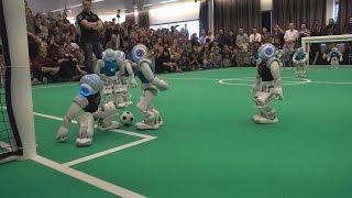 RoboCup EuropeanOpen 2016 SPL Finals: Nao-Team HTWK vs. B-Human   First Half