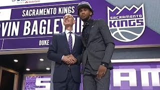2nd pick 1st round - Marvin Bagley III (Kings) | 2018 NBA Draft