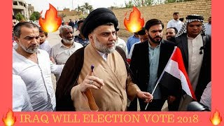 Iraq first will vote election commission fraud 2018