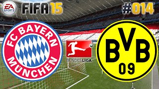 FIFA 15 #014 FC Bayern vs. Borussia Dortmund ★ Bundesliga ★ Let's Play FIFA 15 Multiplayer [Deutsch]
