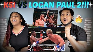 KSI VS Logan Paul 2 FIGHT RECAP + THOUGHTS!!