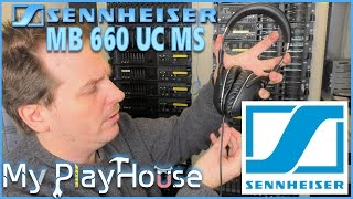 Sennheiser's Awesome MB 660 UC MS High end headset - 443