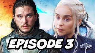 Game Of Thrones Season 7 Episode 3 - TOP 10 WTF and Easter Eggs