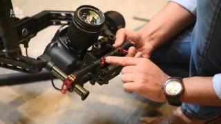 DJI Ronin ضبط وإعداد