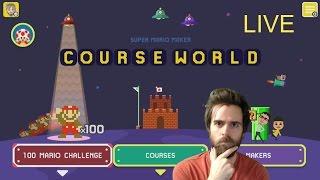 Super Mario Maker Blind Kaizo Race + Retro Game Night | 40,000 Subscribers Party!