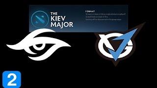 Secret vs VGJ Game 2  Kiev Major Highlights Dota 2