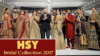 PFDC Sunsilk Fashion Week | HSY Collection | PSFW | 2017 HD