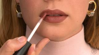 Anytime, anywhere: bareMinerals Nude Lipstick Look