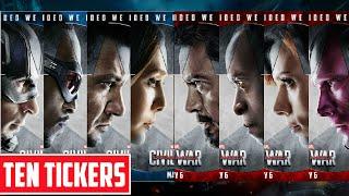 Top 10 siêu anh hùng đáng chú ý nhất trong Captain America: Civil War - Ten Tickers Đặc biệt 1