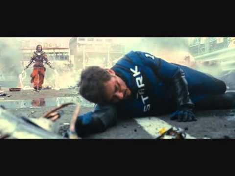 Iron Man 2 Tony vs Ivan Vanko(Whiplash)