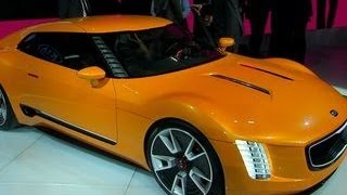 Car Tech - Kia GT4 Stinger concept
