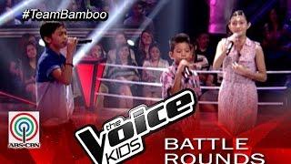 "The Voice Kids Philippines 2015 Battle Performance: ""Fireflies"" by Benedict vs Christian vs Sim"