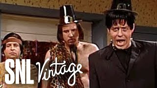 Thanksgiving Greetings From Tarzan, Tonto, and Frankenstein - SNL
