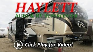 HaylettRV.com - 2016 Jayco Designer 39RE Rear Entertainment Luxury Fifith Wheel