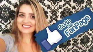 Como Ter Uma Fanpage de Sucesso! Dicas de Facebook - Karyne Otto