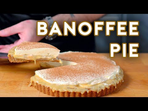 Binging with Babish Banoffee Pie from Love Actually