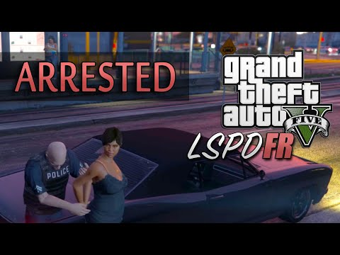 GTA 5 PC Police Mod 1 0c - Arresting, Detaining, Drive to Station