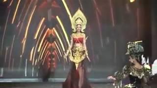 Sian Akak Ni jatuh Tergolek 2kali .Miss Grand Thailand 2017