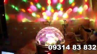 Đèn LED cầu xoay, đèn led sân khấu, đèn led vũ trường