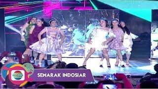 Lagu Syantik Emang Asik Iringi Ladies Night Dance   Semarak Indosiar Surabaya