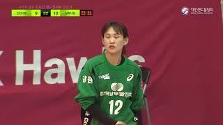 [명장면 다시보기] 상대의 속공을 막아내는 박미라 골키퍼