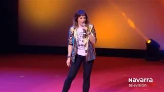 Monólogo de Aroa Berrozpe en la Gala de Navarra TV