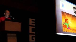 Cliff Bleszinski Keynote Presentation @ ECGC 2013