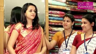 Bhavana at Pulimoottil Silks