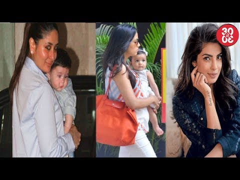 Kareena Kapoor-Mira Rajput Cold War Over Their Babies Birthday | Priyanka Skips Her Screening